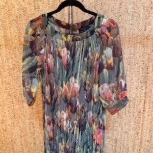 Ted Baker Dress, Size 3, Beautiful Flowers
